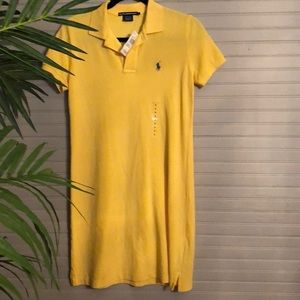New Yellow Ralph Lauren Dress